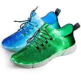 Shinmax Zapatillas Fibra Optica, Zapato...