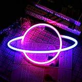 YUNYODA Planet Neon Signs - Letreros de...